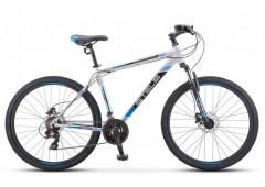 Велосипед Stels Navigator 700 D 27.5 F010 (2020) черный/зелёный 17.5