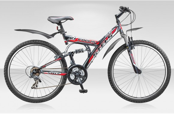 Двухподвесный велосипед Stels FOCUS 21 CK (2014)