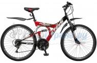 Двухподвесный велосипед Stels Focus 21 скорость (2010)