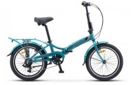 Велосипед Stels Pilot 650 20 V010 (2019) синий Один размер