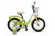Велосипед Stels Pilot 190 16 V030 (2018) зеленый Один размер