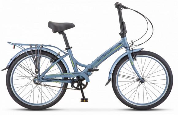 Велосипед Stels Pilot 770 24 V010 (2019) серый/зеленый Один размер