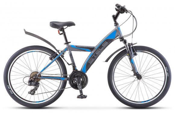 Велосипед Stels Navigator 410 V 24 18-sp (V030) (2018)