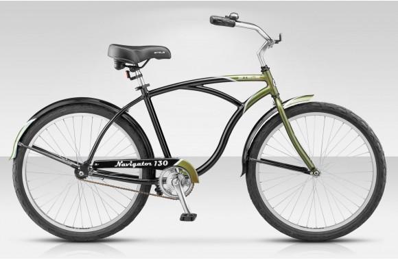 Комфортный велосипед Stels Navigator 130 1sp (2016)